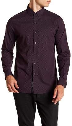 Report Collection Micro Dot Slim Fit Shirt