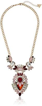 GUESS Fashionably Tort Statement Stones Necklace