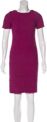 Burberry Silk Paneled Dress