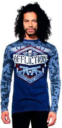 Affliction Affiction Depoyed Graphic T-shirts Men