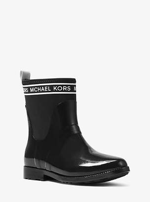 Michael Kors Hilda Rubber And Neoprene Rain Boot
