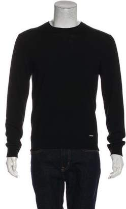 DSQUARED2 Zip-Accented Wool Sweater