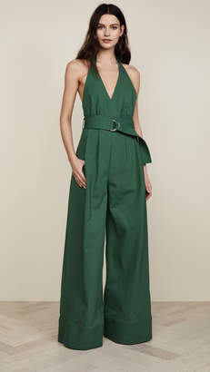 ADAM by Adam Lippes Halter Jumpsuit