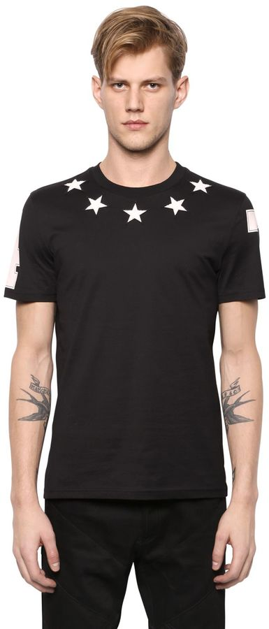 Cuban Star Patches Jersey T-Shirt