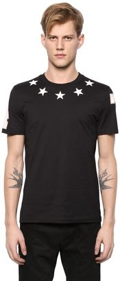Cuban Star Patches Jersey T-Shirt $364 thestylecure.com