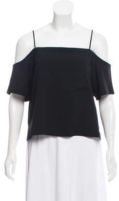 Alexander Wang Oversize Off-The-Shoulder Top