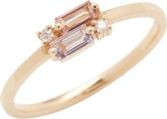 Suzanne Kalan Rose De France Baguette Ring
