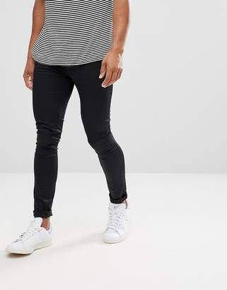 Asos DESIGN Extreme Super Skinny Chinos In Black