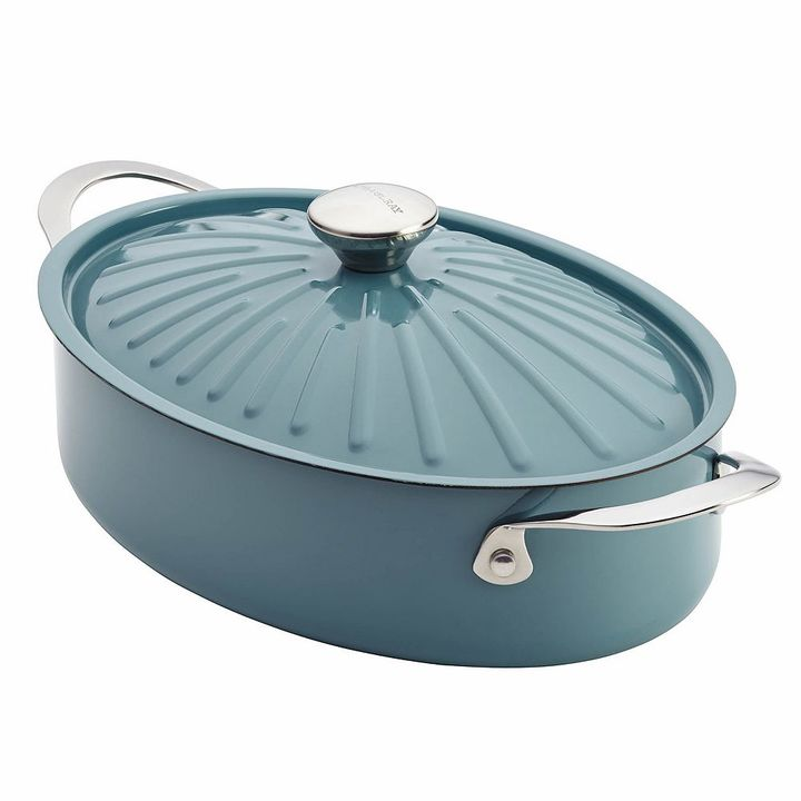 Rachael Ray Cucina 5-qt. Hard-Enamel Covered Sauteuse