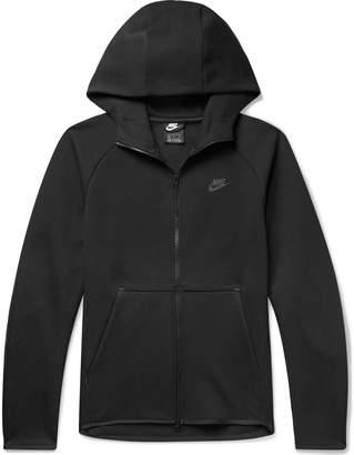Nike Sportswear Cotton-Blend Tech-Fleece Zip-Up Hoodie - Men - Black