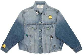 SANDRINE ROSE The Marie Jacket In Rosiers
