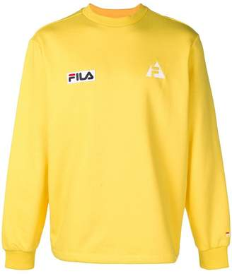 Fila branded jersey sweater