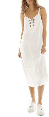 Glamorous Eyelet Midi Dress