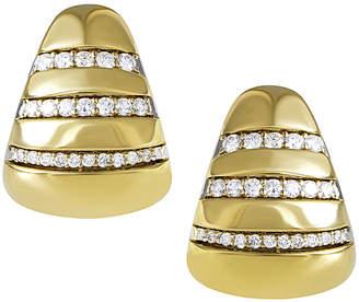 Damiani 18K 0.81 Ct. Tw. Diamond Earrings