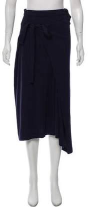 Joseph Calico Knit Mid Skirt