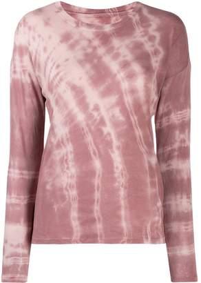 Raquel Allegra tie-dye sweatshirt top