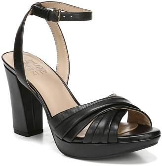 ae4822e745f9 Naturalizer Black Heel Strap Women s Sandals - ShopStyle