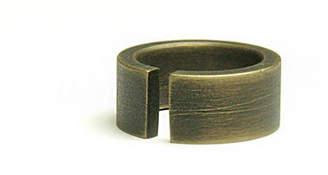 Marmol Radziner Heavyweight Cut Wide Ring