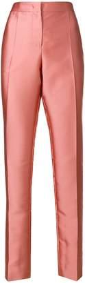 Alberta Ferretti tailored metallic trousers