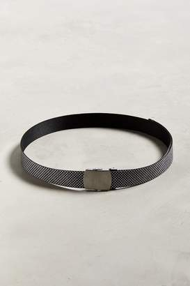 Urban Outfitters Houndstooth Web Belt