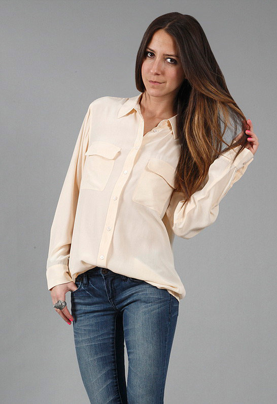 Equipment Signature Blouse in Many Colors