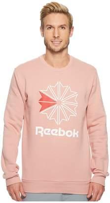 Reebok Big Starcrest Crew Neck Men's T Shirt