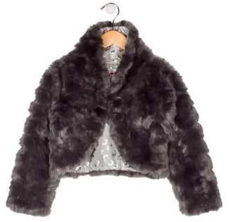 6c862d9a8 Appaman Fine Tailoring Girls' Faux Fur Crop Jacket