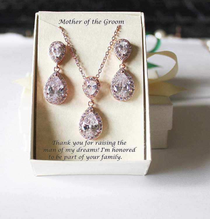 Etsy Engraved Mother of the Groom Wedding gift set- Mother of the Bride gift set- Custom Mothers wedding
