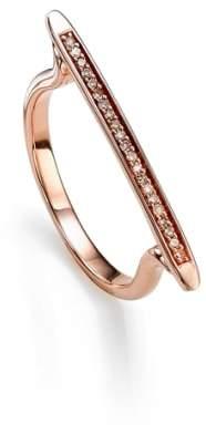 Monica Vinader 'Skinny' Diamond Stacking Ring