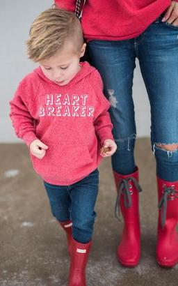 Ily Couture Kids Heart Breaker Hoodie $36 thestylecure.com
