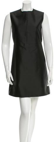 CelineCéline Sleeveless A-Line Dress