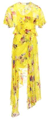 Preen by Thornton Bregazzi Nickesha silk-blend dress