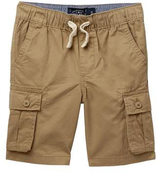 Lucky Brand Pull On Cargo Woven Shorts (Little Boys)