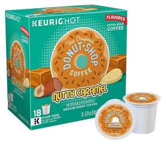 Keurig The Original Donut Shop Nutty Caramel Medium Roast Flavored Coffee K-Cup Pods - 18ct
