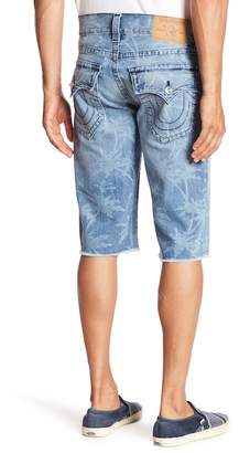 True Religion Straight Flap Cutoff Shorts
