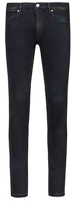 HUGO BOSS Skinny-fit jeans in black stretch denim