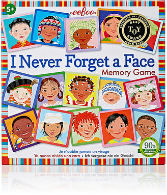 Eeboo I Never Forget A Face Memory Game $16 thestylecure.com