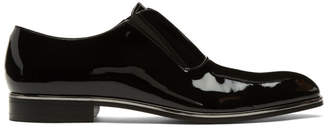 BOSS Black Patent Stanford Loafers