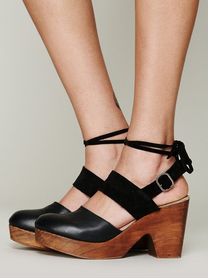 Free People Belmont Leather Clog
