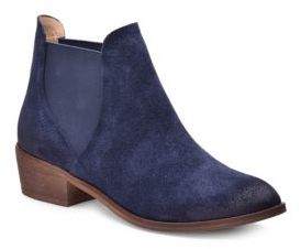Splendid Henri Leather Double Goring Ankle Boots $178 thestylecure.com