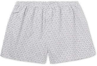 Sunspel Penguin Printed Cotton Boxer Shorts