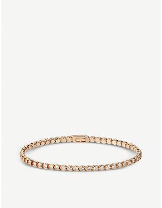 Cartier Lignes 18ct yellow-gold and diamond bracelet