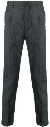 Paul Smith pleated tapered trousers