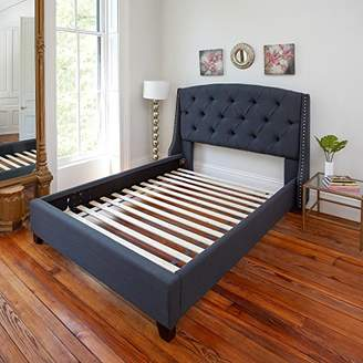 Classic Brands Standard Solid Wood Bed Support Slats   Bunkie Board   Fits Most Beds
