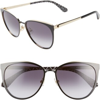 Kate Spade Jabreas 57mm Cat Eye Sunglasses