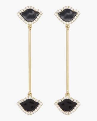 Amrapali Legend Nalika Lotus Enamel Earrings