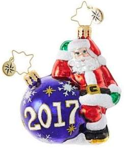 Christopher Radko Santa's Ball Figurine
