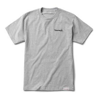Diamond Supply Co. Diamond Suppy Co Signature Og Script T-Shirt - Sc Heather Grey