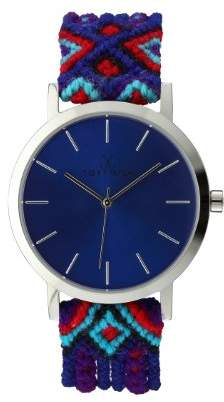 Toy Watch Toywatch Maya Women's Quartz Watch with Blue Dial Analogue Display and Purple Strap MYW10SL