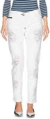 Philipp Plein Denim pants - Item 42649456GQ